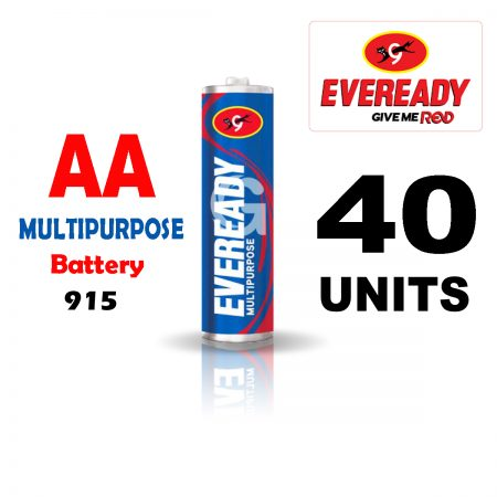 Eveready AA 915 MULTIPURPOSE Battery Pack of 40
