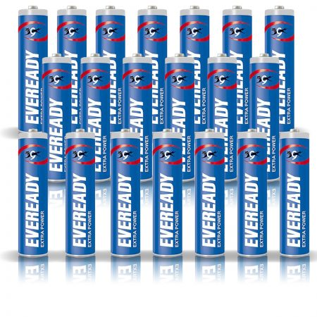 Eveready  AAA 912 Extra Power Battery Pack of 20