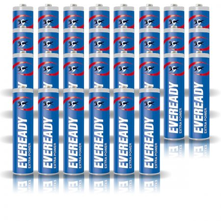 Eveready  AAA 912 Extra Power Battery Pack of 30