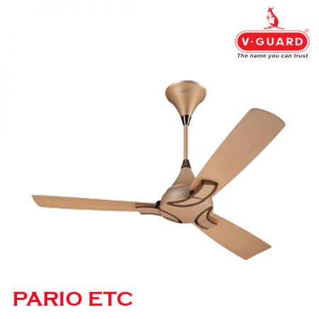 V-Guard PARIO ETC Ceiling Fan 1200mm, Beige Bronze