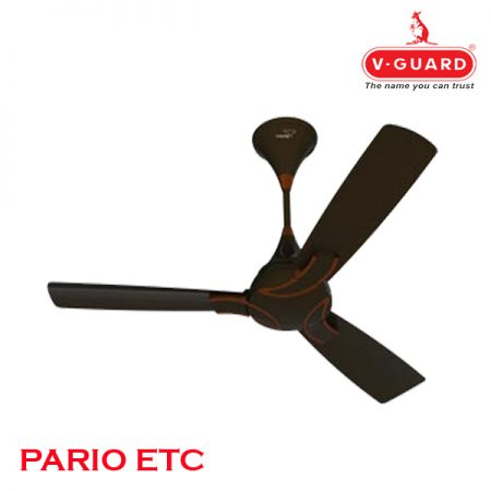 V-Guard PARIO ETC Ceiling Fan 1200mm, Choco Bronze