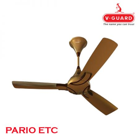 V-Guard PARIO ETC Ceiling Fan 1200mm, Russet Gold