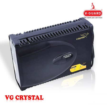 V-Guard VG Crystal Stabilizer for LED/LCD/TV, Black