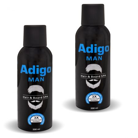 Adigo Man Hair & Beard SPA 200ml Pack of 2