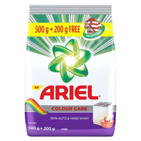 Ariel Colour Care Washing Powder 500g + 200g free
