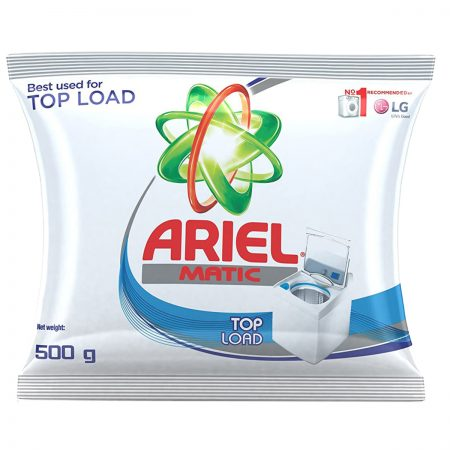 Ariel Matic Top Load Washing Powder 500g
