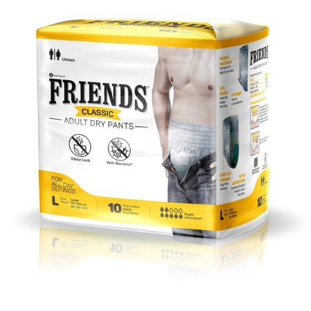 Friends Classic Adult Dry Pants Large Size 10 Pcs