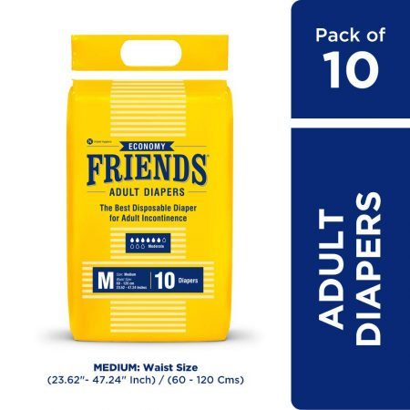 Friends Economy Adult Diapers M
