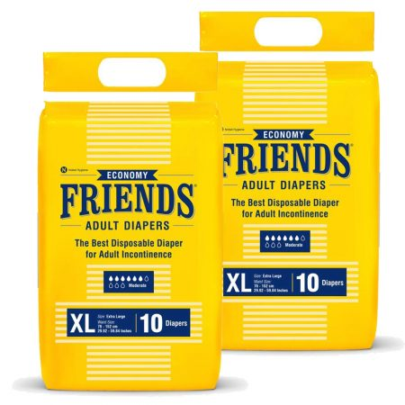 Friends Economy Adult Diapers Extra Large 20Pcs