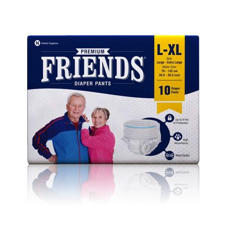 Friends Premium Adult Diaper Pants Extra Large