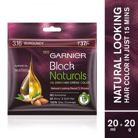 Garnier Black Naturals Shade 3.16 Burgundy (20ml + 20g)