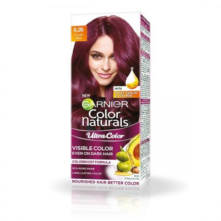 Garnier Color Naturals 55ml + 50g Shade 6 26 Plum Red