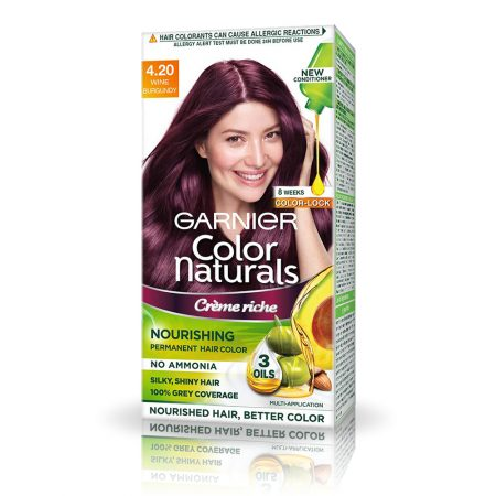 Garnier Color Naturals Shade Wine Burgundy 4