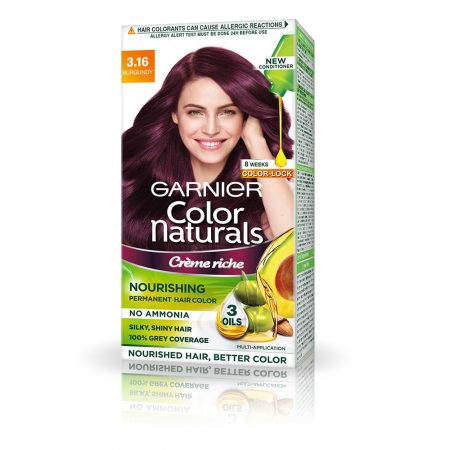 Garnier Color Shade 3.16 Burgundy Naturals 70ml + 60g