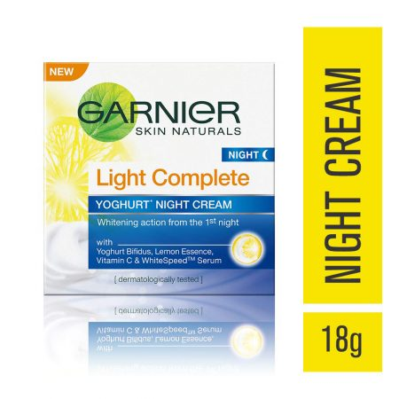 Garnier Light Complete Night Cream 18g
