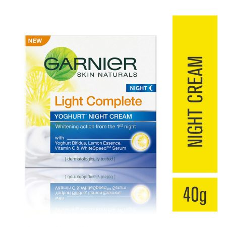 Garnier Light Complete Night Cream 40g