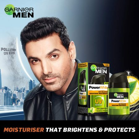 Garnier Man Anti Pollution Brightening Moisturiser 50g