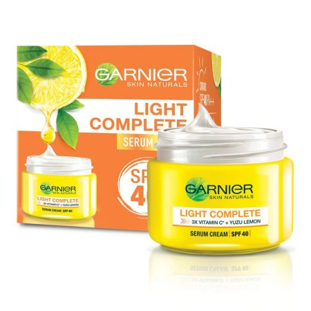 Garnier Skin Natural Light Complete Fairness Serum Cream 40g Pack of 2