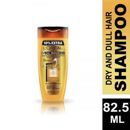 L'Oreal Paris 6 Oil Nourish Shampoo 82.5 ml