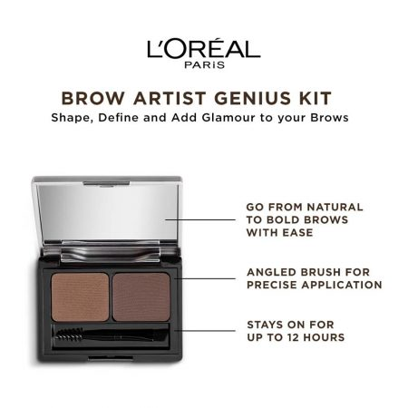 L'Oreal Paris Brow Artist Genius Kit (Medium To Dark)