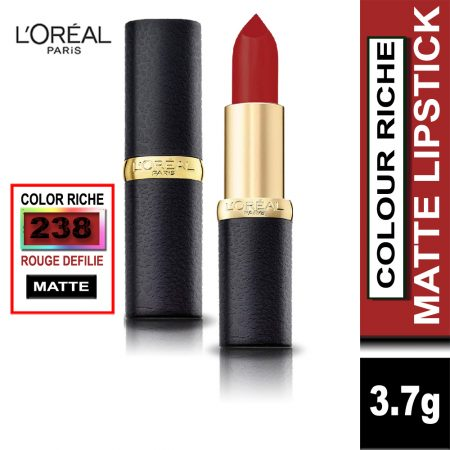 L'Oreal Paris Color Riche Moist Matte Lipstick (238 Rouge Defilie)