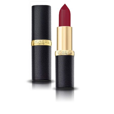 L'Oreal Paris Color Riche Moist Matte Lipstick (218 Black Cherry)