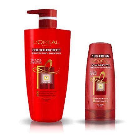 L'Oreal Paris Colour Protect Shampoo & Conditioner 704 ml +192.5 ml (Combo)