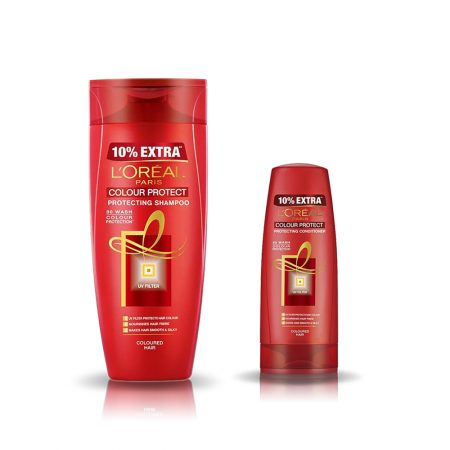 L'Oreal Paris Colour Protect Shampoo & Conditioner 192.5 ml + 71.5 ml (Combo)