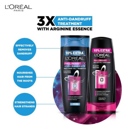 L'Oreal Paris Fall Resist 3X Anti Dandruff Shampoo