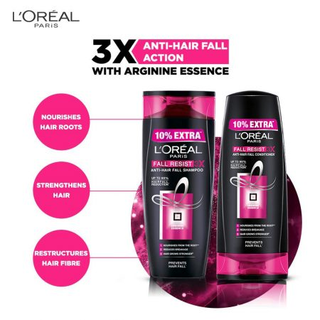 L'Oreal Paris Fall Resist 3x Shampoo