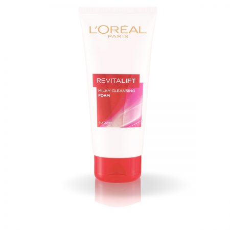 L'Oreal Paris Revitalift Milky Foam Face wash 100ml