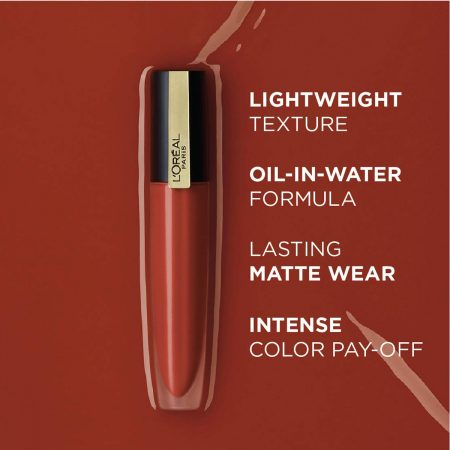 L'Oreal Paris Rouge Signature Matte Liquid Lipstick 129