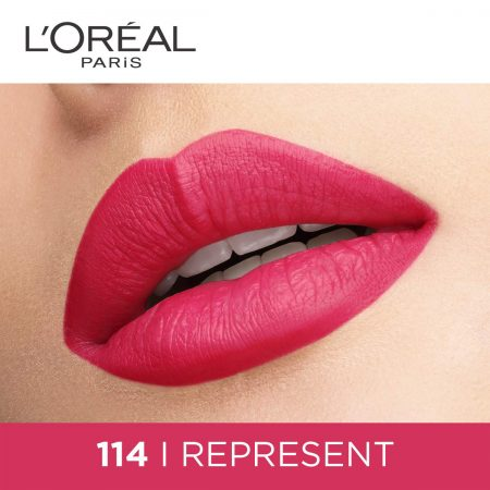 L'Oreal Paris Rouge Signature Matte Liquid Lipstick 114