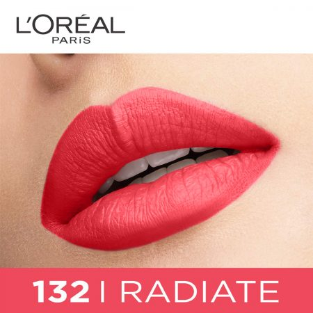 L'Oreal Paris Rouge Signature Matte Liquid Lipstick 132