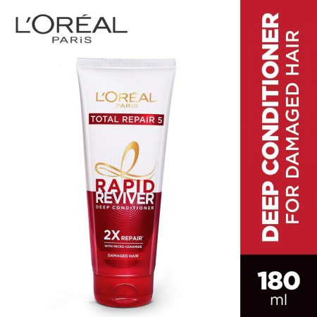 L'Oreal Paris Total Repair 5 Rapid Reviver Deep Conditioner (180 ml)