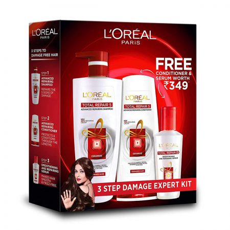 L'Oreal Paris Total Repair 5 Shampoo (Combo Pack)