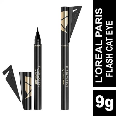 L'Oreal Paris Flash Cat Eye Eyeliner (Black)