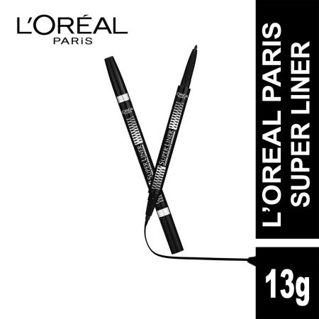 L'Oreal Paris Super Liner Superstar Duo Designer Eyeliner (Black)