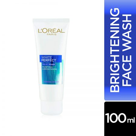 L'Oreal Paris White Perfect Milky Foam Facewash 100ml