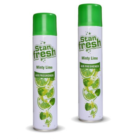 Stanfresh - Minty Lime Air Freshener 250ml (Pack of 2)