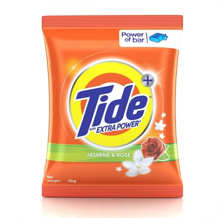 Tide Plus Extra Power Detergent Washing Powder 1kg