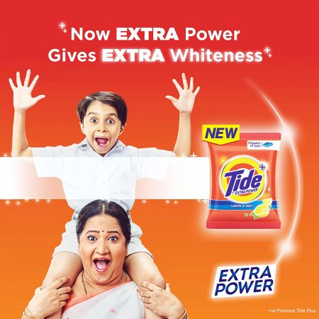 Tide Plus Extra Power Detergent Washing Powder 2kg
