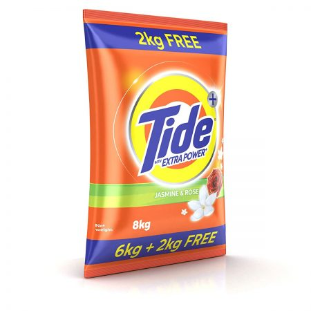 Tide Plus Extra Power Detergent Washing Powder 8 kg