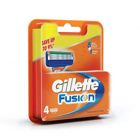 Gillette Fusion Cartridges, 4pcs