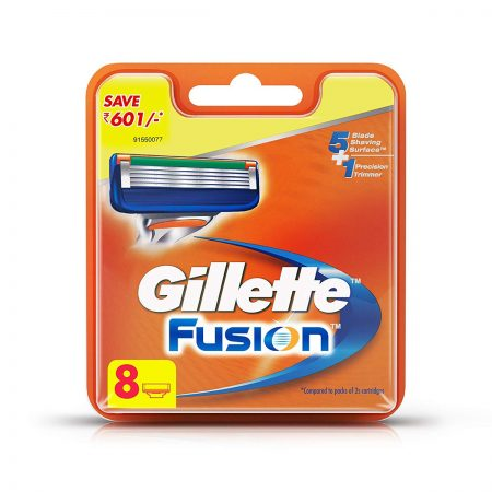 Gillette Fusion Cartridges 8Pc