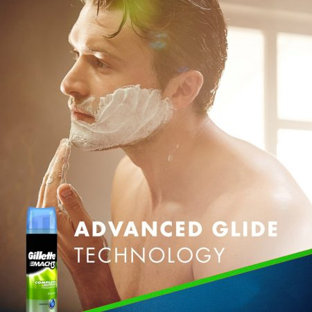 Gillette Mach3 Complete Defense Sensitive Shave Gel