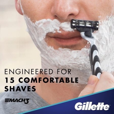 Gillette Mach3 New Blade Razor for Men