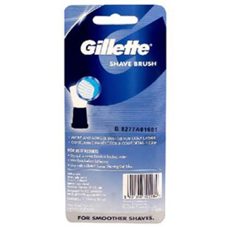 Gillette Shaving Brush Blue 1
