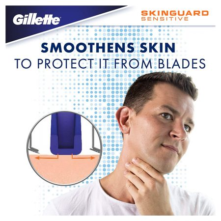 Gillette Skinguard Manual Shaving Razor Blades Pack of 4