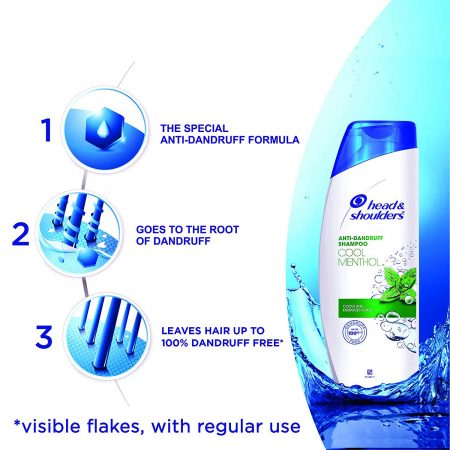 Head and Shoulders Anti-Dandruff Cool Menthol Shampoo